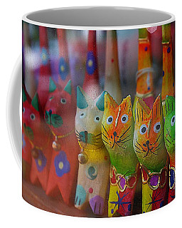 Coffee Mug featuring the photograph Kitty Kitty  by John S