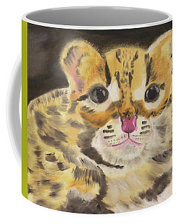 Peek A Boo Kitty Coffee Mug