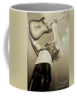 K K Downing Of Judas Priest At The Warfield Theater During British Steel Tour - Unreleased Coffee Mug