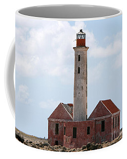 Coffee Mug featuring the photograph Klein Curacao Lighthouse by David Millenheft
