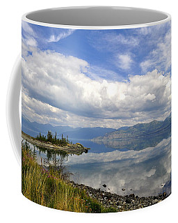 Coffee Mug featuring the photograph Kluane Reflections by Cathy Mahnke