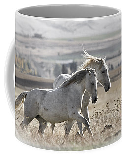Coffee Mug featuring the photograph Knee Deep D3505 by Wes and Dotty Weber