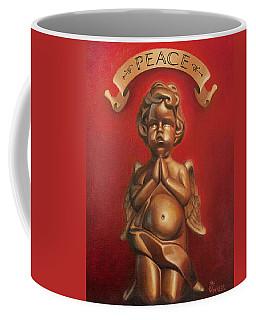Kneeling Cherub Coffee Mug