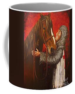 Knight And Horse Coffee Mug