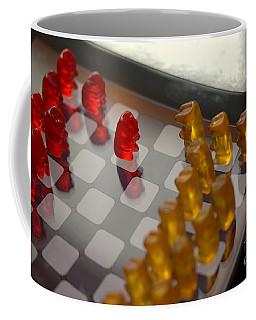 Knight Takes Pawn Coffee Mug