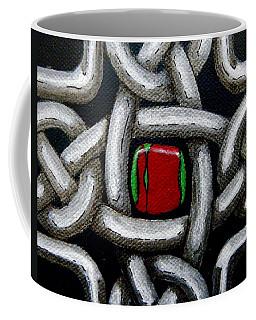 Knotwork With Gem Coffee Mug