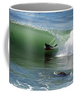 Know What Lies Beneath Coffee Mug by Joe Schofield