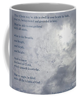 Knowing Love  Coffee Mug by Christina Verdgeline