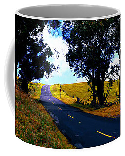 Kohala Mountain Road  Big Island Hawaii  Coffee Mug