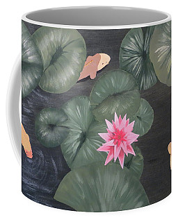 Koi Coffee Mug by Tim Townsend
