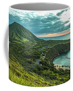 Koko Head Crater And Hanauma Bay 1 Coffee Mug by Leigh Anne Meeks