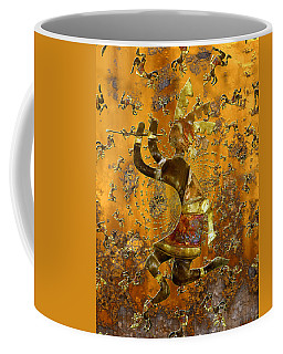Kokopelli Coffee Mug by Kurt Van Wagner