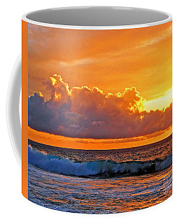 Kona Golden Sunset Coffee Mug by David Lawson