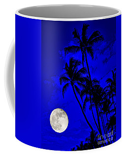 Kona Moon Rising Coffee Mug by David Lawson