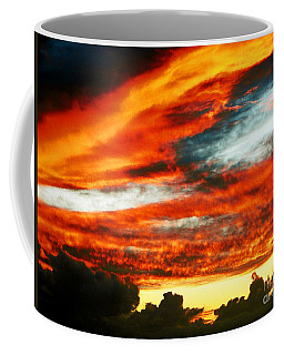Coffee Mug featuring the photograph Kona Sunset 77 Lava In The Sky  by David Lawson