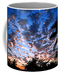 Kona Sunset Coffee Mug by David Lawson
