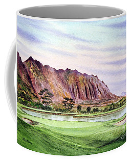 Koolau Golf Course Hawaii 16th Hole Coffee Mug