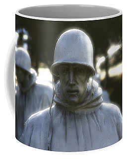 Korean War Soldier 2 Coffee Mug