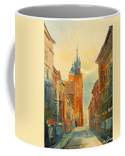 Krakow Florianska Street Coffee Mug