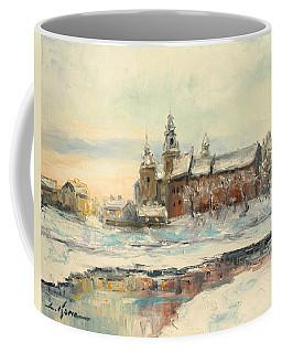 Krakow - Wawel Castle Winter Coffee Mug
