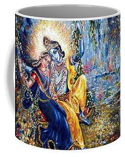 Krishna Leela Coffee Mug by Harsh Malik