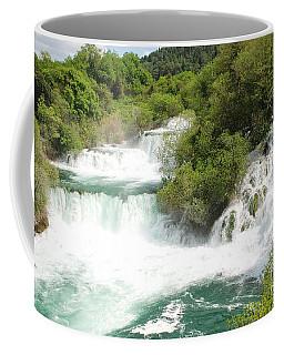 Krka Waterfalls Croatia Coffee Mug