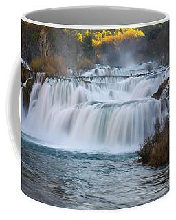 Krka Waterfalls Coffee Mug