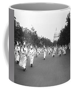 Ku Klux Klan Parade Coffee Mug