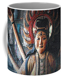 Coffee Mug featuring the photograph Kuan Yin by Nadalyn Larsen