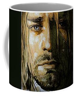 Kurt Cobain Coffee Mug by Laur Iduc