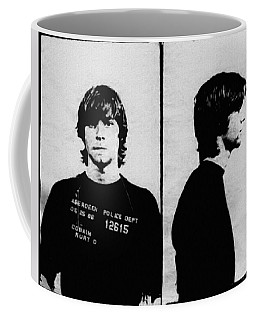 Kurt Cobain Mugshot Coffee Mug