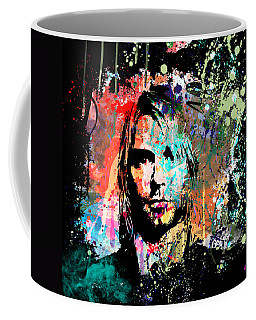 Kurt Cobain Portrait Coffee Mug