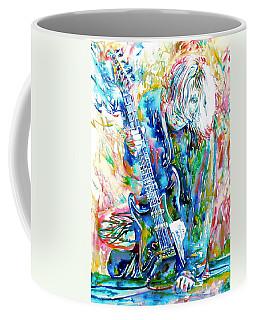 Kurt Cobain Portrait.1 Coffee Mug