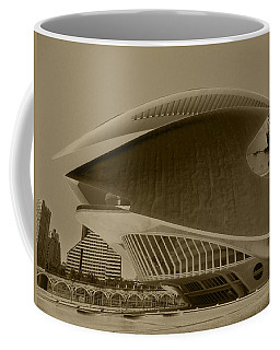 Coffee Mug featuring the photograph L' Hemisferic - Valencia by Juergen Weiss