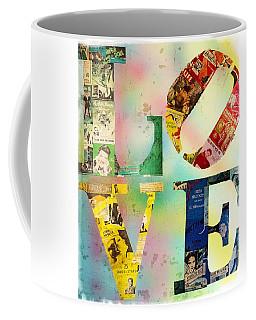 L O V E Coffee Mug by Jordan Blackstone