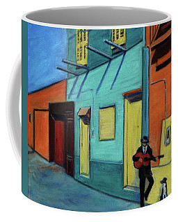 La Boca Morning II Coffee Mug by Xueling Zou
