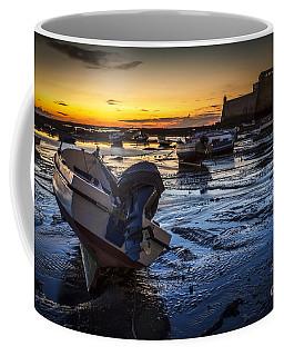 La Caleta Beach Cadiz Spain Coffee Mug by Pablo Avanzini