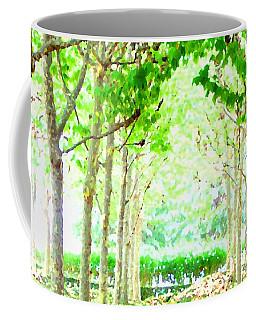 La Defense Platanuses Coffee Mug