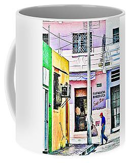Coffee Mug featuring the photograph La Farmacia by Jim Thompson