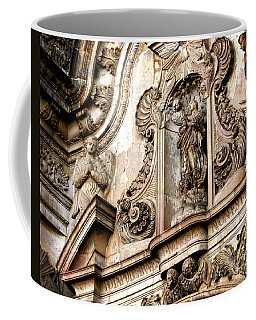 Coffee Mug featuring the photograph La Iglesia De La Compania  Quito Ecuador by Eleanor Abramson