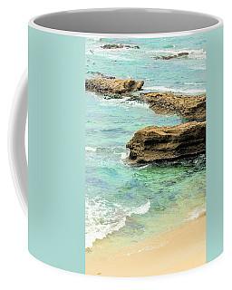 La Jolla Beach Rocks Coffee Mug