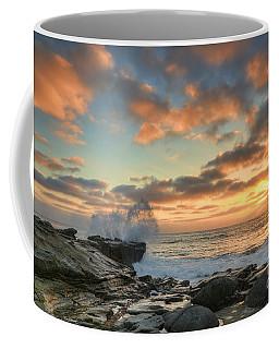 La Jolla Cove At Sunset Coffee Mug