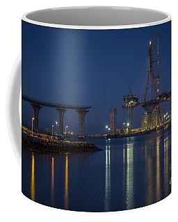 La Pepa Bridge Cadiz Spain Coffee Mug by Pablo Avanzini