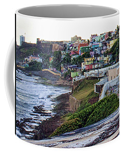 Coffee Mug featuring the photograph La Perla by Daniel Sheldon