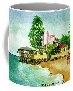 La Playa Hotel Isla Verde Puerto Rico Coffee Mug by Frank Hunter