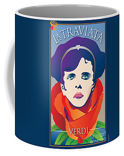 La Traviata Opera Coffee Mug