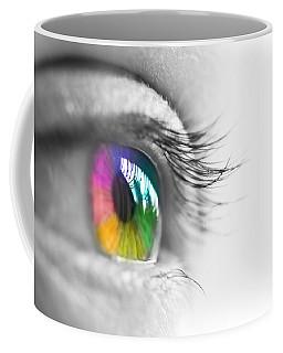 La Vie En Couleurs Coffee Mug by Delphimages Photo Creations