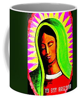 Coffee Mug featuring the painting Tonantzin by Michelle Dallocchio