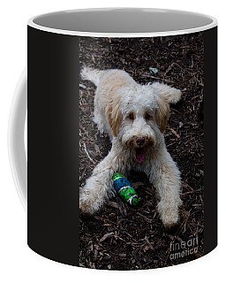 Labradoodle At Play Coffee Mug