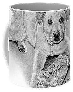 Sneaker Snatcher- Labrador And Chow Chowx Mix Coffee Mug